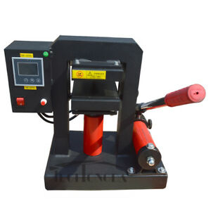 Manual Hydraulic Oil Extract Rosin Press 14000psi 5 X 5 Platen Solventless