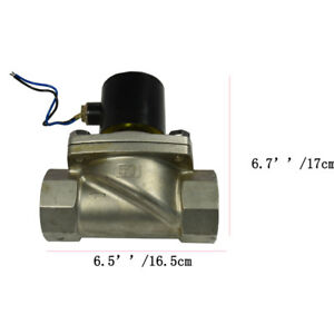 Electric Solenoid Valve Electric Brass Solenoid Valve Water Gas Air Dn50 Dc24v