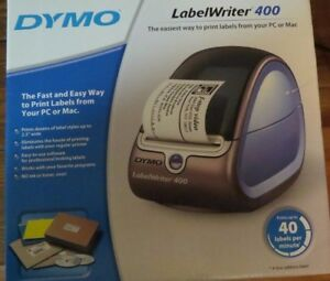 Dymo Labelwriter 400 Thermal Printer For Pc Or Mac No Ink Or Toner Ever