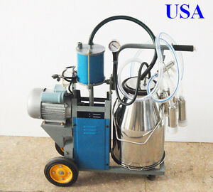 Cow Milker Electric Piston Milking Machine For Cows 170676