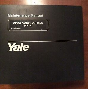 Yale Service Manual Forklift