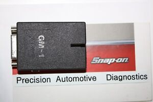 Snap On Gm 1 Cable Adapter Mt 2500 Mtg 2500 Solus Pro Modis Scanner Scan Tool
