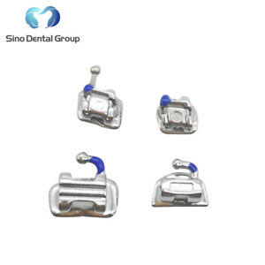 1 X Dental Orthodontic Brackets Self Ligating Roth 022 No Hook Damon Q Looking