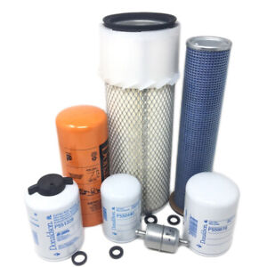Case 580k Loader Backhoes Maintenance Filters Kit Free Shipping