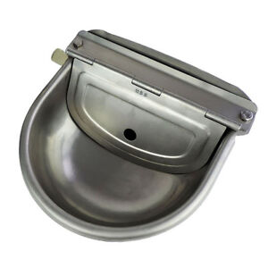 Automatic Stainless Water Bowl Float Valve Auto Trough For Dog Cattle Goat Sheep