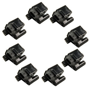 Square Ignition Coil 8 Piece Kit Set For Chevy Silverado Gmc Pickup Truck V8