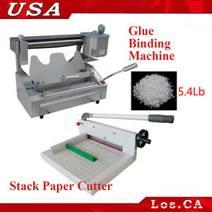 Binding Machine Glue Pellets A4 Stack Paper Cutter Glue Book Binding Kit