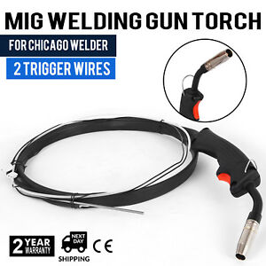 Welder Complete Replacement Mig Torch W 2 Trigger Welding Gun Parts Stinger
