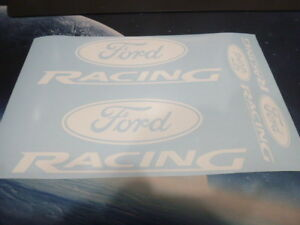 Ford Racing Emblems Stickers Decals asstd 4 Total