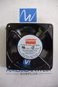 Dayton 6kd69a 115 Volt Dc Axial Fan New