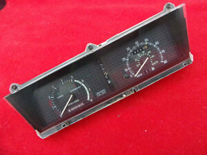 Cougar Xr7 Tach Dash Cluster Speedometer Turbo Mercury Used Part 1984 1985 84 85
