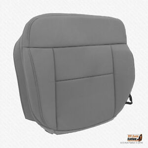 2004 2008 Ford F 150 Xlt driver Side Bottom Replacement Cloth Seat Cover Gray
