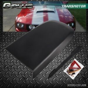 For 2005 2009 Ford Mustang Gt V8 Racing Hood Scoop Vent Black