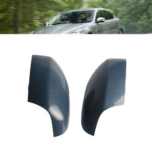 Pair Outside Door Side Rear View Mirror Cover Cap For Volvo Xc70 2007 2016