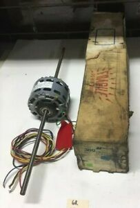 New Magnetek 4 Speed Double Shaft Blower Motor Model Da3e206n 1 20hp
