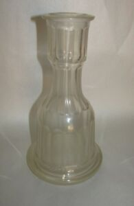 Antique Hookah Base Cut Glass Early Middle Eastern Islamic English Irish