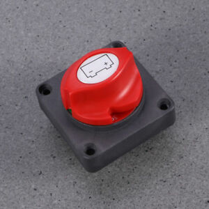 Car Marine Boat Rv Battery Selector Isolator Disconnect Rotary Switch Cut On Off