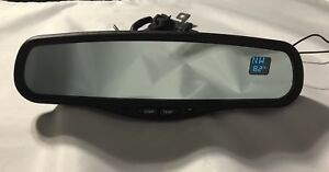 Gentex 177 Auto Dim Mirror With Compass And Temp Two Line Display Free Wirecover