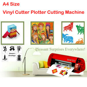 Diy Stickers Cutter A4 Vinyl Cutter Plotter Cutting Machine Contour Cut Function