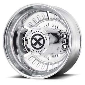 American Racing Atx Series Ao403 Roulette Rim Outer Rear Polished 24 5