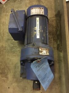 Sumitomo Sm cyclo Hhms05 610byc b 4 Gearbox 43 1 Ratio With 3ph Induction Motor