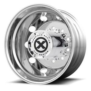 American Racing Atx Series Ao400 Baja Rim Rear Super Single Polished 22 5