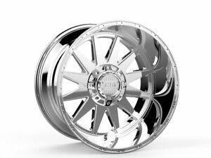 20x12 Xtreme Mudder Xm 312 Wheels Chrome Offroad Rims 6x135 139 7 Lifted Chevy