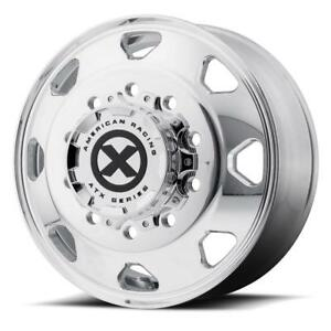 American Racing Atx Series Ao401 Octane Rim Front inner Rear Polished 24 5