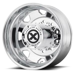 American Racing Atx Series Ao401 Octane Rim Outer Rear Polished 24 5