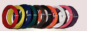 New 10 Awg Gauge 600 Volt Thhn Stranded Copper Wire 75 Of 6 Different Colors