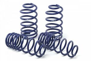 H r 51690 Front rear Sport Lowering Springs 2011 2014 Ford Mustang Gt v6