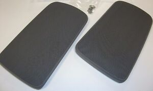 Toyota Camry Gray Replacement Rear Speaker Grille Covers 2002 2006 Oem