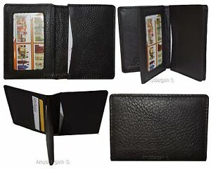 Lot Of 4 Business Card Case Up To 50 Cards Id Natural Grain Leather Case 10