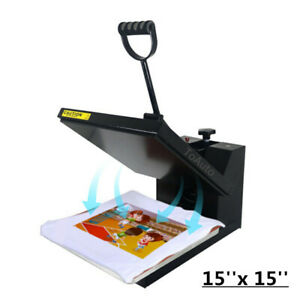 38 38cm Heat Press Transfer Sublimation Machine T shirt Printing Stamping 110v