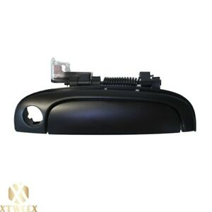Smooth Black Right Front Outer Door Handle W key Hole For 06 11 Kia Rio Rio5