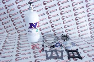 Nx Nitrous Express Wet Mainline Carbureted System With 10lb Bottle Ml1000