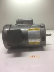 Baldor Vl1301 Single Phase Motor 115 208 230v 1 3hp 1725rpm