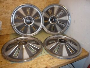 14 1966 66 Ford Mustang Hubcaps Wheelcovers Antique Vintage Classic
