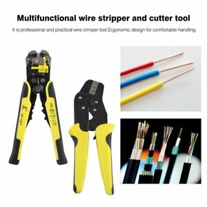 New 4 In 1 Wire Crimpers Engineering Ratcheting Terminal Crimping Pliers Set Ma