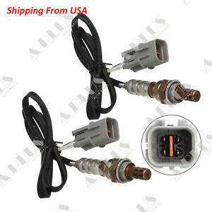 2pcs Downstream Oxygen Sensor For Kia Sorento V6 3 5l 2006 2005 2004 2003