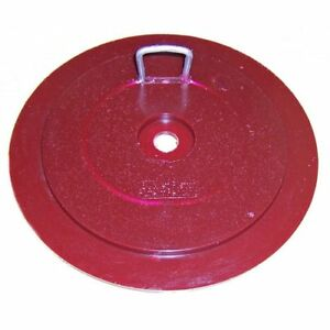 Red Diamond Drywall Bucket Piston For Compound Tubes Bp 01 Keeps Mud Moist