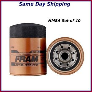 Oil Filter Set Of 10 For Ford Expedition Mercury Grand Marquis 2 3l 4 9l 5 0l