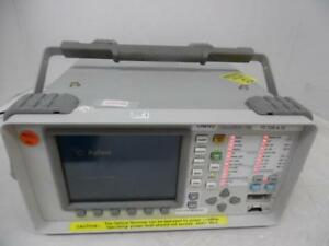 Agilent Omniber 718 Communication Performance Analyzer With Multiple Options