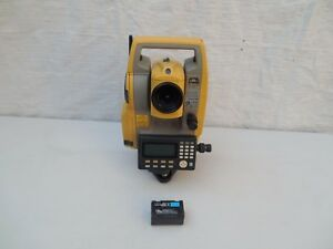 Topcon Es 102 Dual Display Total Station