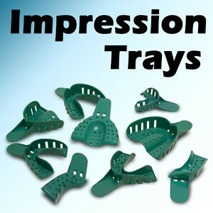 Starryshine 144 Pc 5 Small Upper Dental Disposable Impression Tray Trays