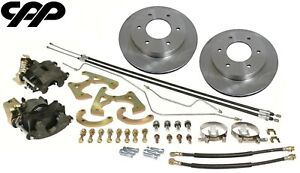 1963 66 Chevy C10 Truck 6 Lug Rear Brake Disc Kit Conversion Package