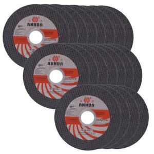 100pc Cut Off Wheels 4 1 2 x 040 x7 8 Inch Cutting Stainless Steel Metal Discs
