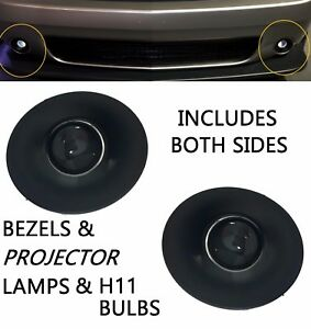 Replacement Fog Light Kit For 2015 2016 2017 Dodge Challenger Projector Lamps