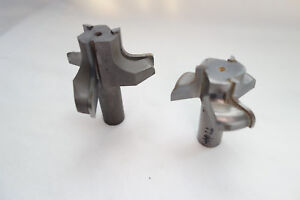 2 Ogee Cnc Router Bits 3 4 Shank Carbide Used sharp