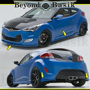 For 2012 2017 Hyundai Veloster Non Turbo 5pc Sequence Style Kdm Body Kit